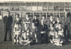 Heathcote school Football team 1961